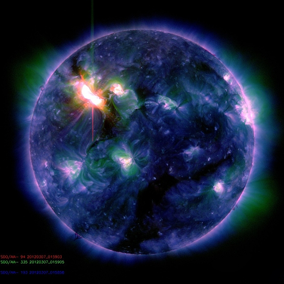 IN PHOTOS: Massive solar storm hits Earth
