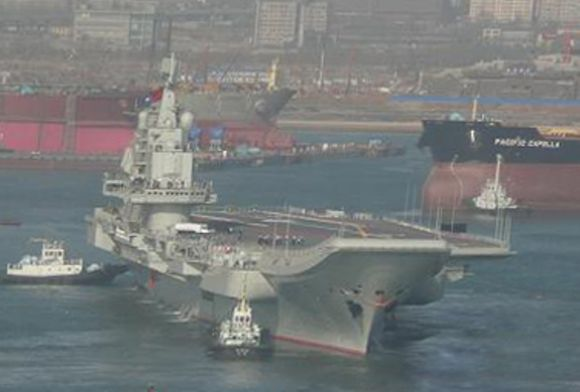 China's 1st aircraft carrier to be deployed in August