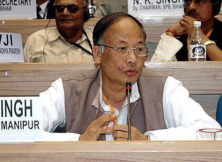 Manipur Chief Minister  Okram Ibobi Singh