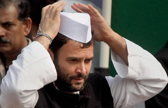 Congress Vice President Rahul Gandhi is extremely emotional