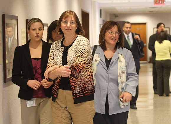 Jane Clementi with her family