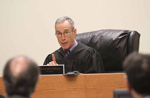 Superior Court Judge Glenn Berman