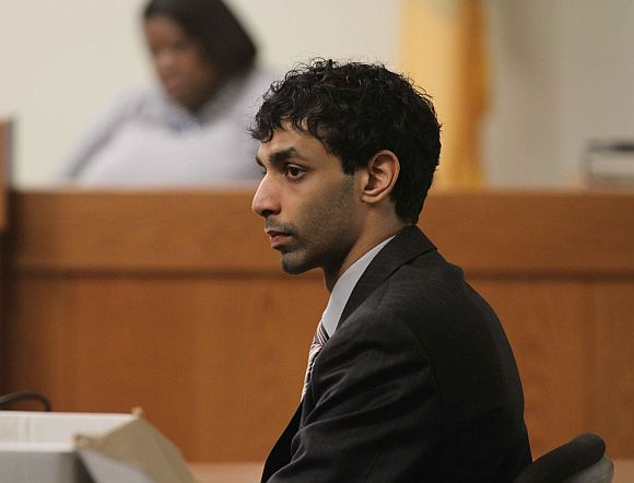 Dharun Ravi in court during the hearing