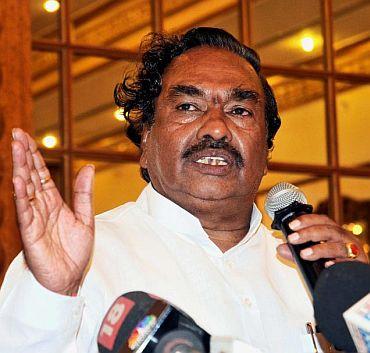 Karnataka BJP president K S Eshwarappa