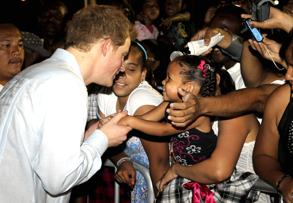 BEST MOMENTS: Charming Prince Harry on his first solo tour