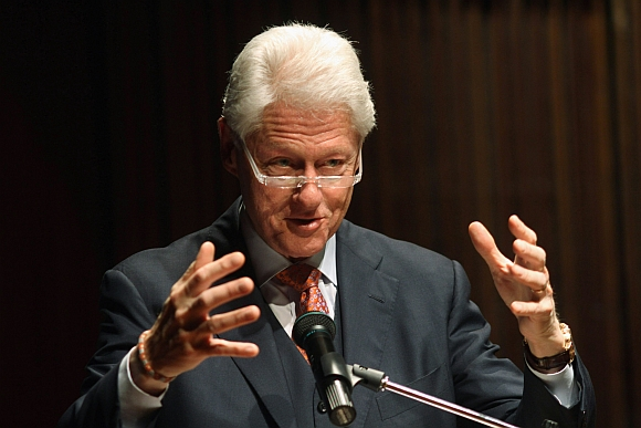 Former President Bill Clinton