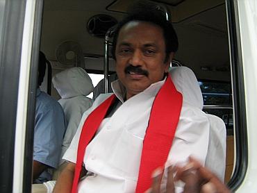 DMK stalwart MK Stalin