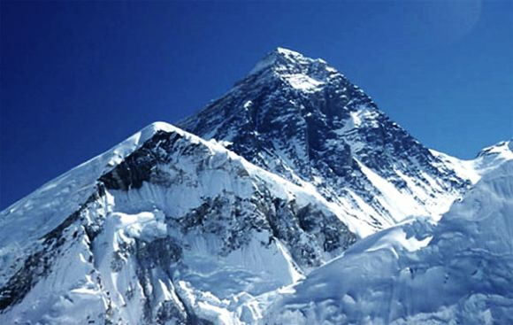 A file picture of Mt Everest in Nepal, world's tallest mountain peak at 8,848 metres