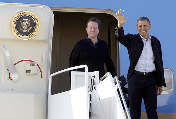 Obama bonds with Cameron