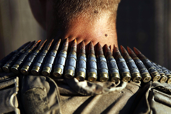 In PHOTOS: Guns and games in BATTLEFIELD Afghanistan