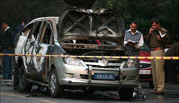Delhi sticky bomb plot hatched in 2011