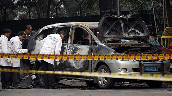 Delhi sticky bomb plot hatched in 2011