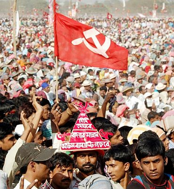 File photo of a CPI-M rally