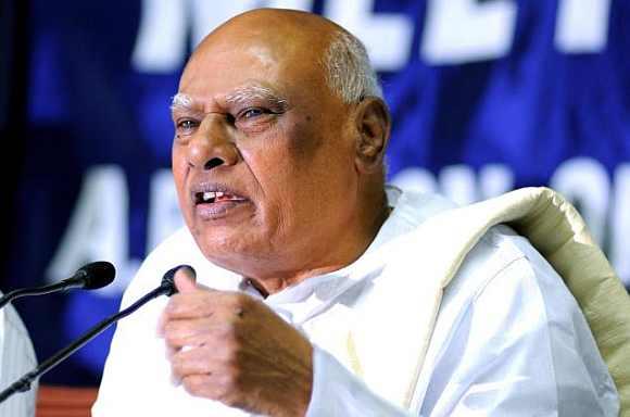 Tamil Nadu Governor K Rosiah