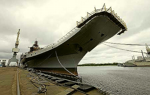 Aircraft carrier, Admiral Gorshkov