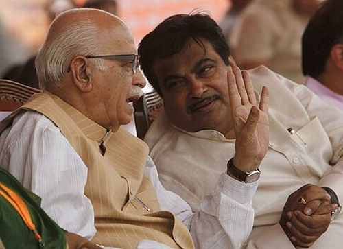 Gadkari ignores Advani, Sushma; Ahluwalia denied RS seat
