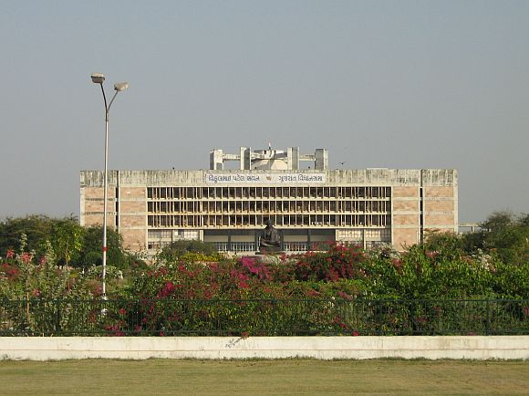 File photo of the Gujarat Vidhan Sabha