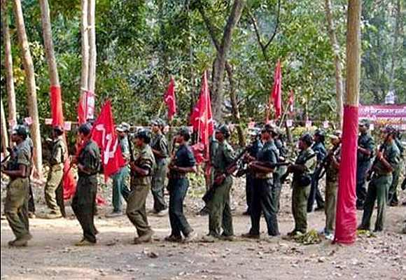 A file photo of Maoist cadres