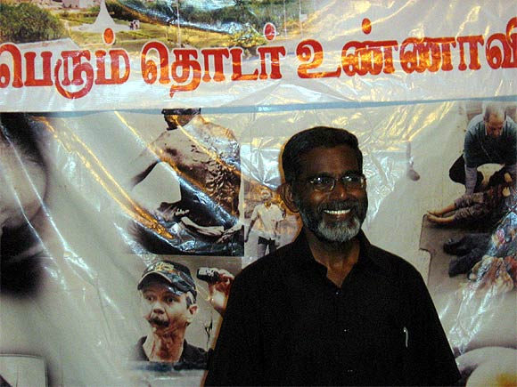 Anti-KNPP activist S P Udayakumar is on an indefinite hunger strike