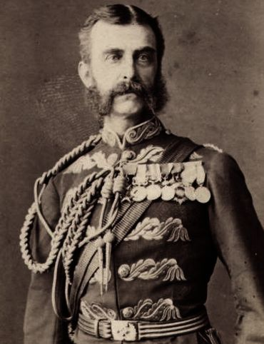 Archival photo of British India Viceroy Lord Chelmsford