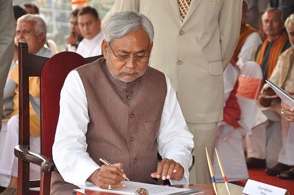 Bihar Chief Minister Nitish Kumar