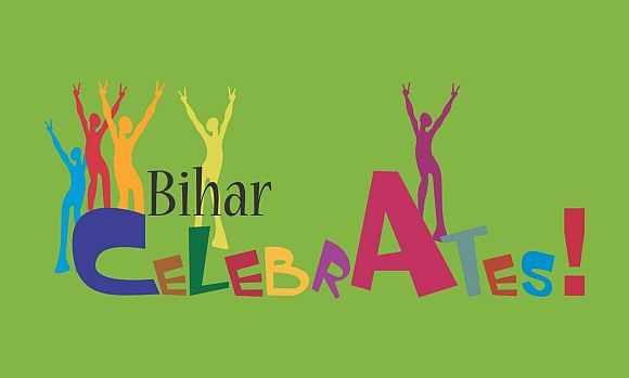 An illustration on Bihar's centenary celebrations