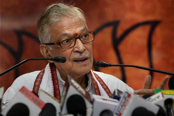 File photo of Dr Murli Manohar Joshi