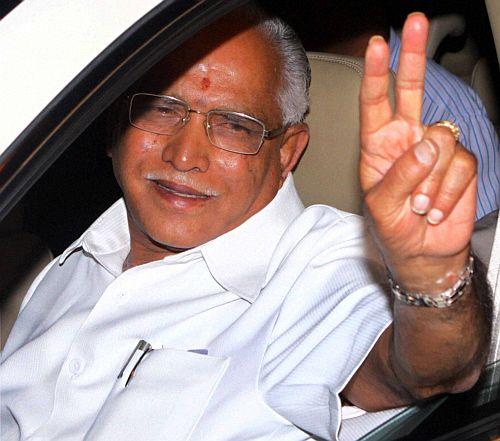 Yeddyurappa awaits Delhi's diktat; CM rules out his exit