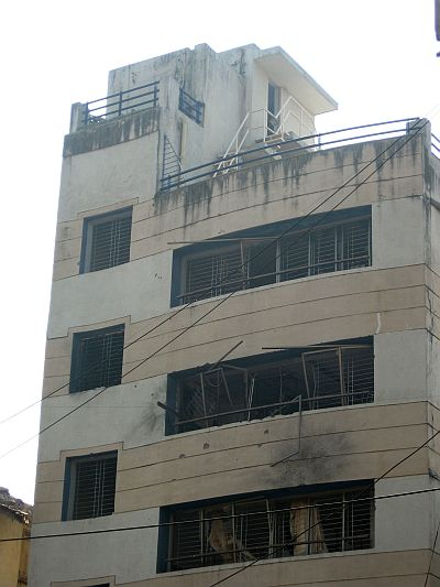 File photo of the Chabad House, which was one of the targets of the 26/11 terrorists
