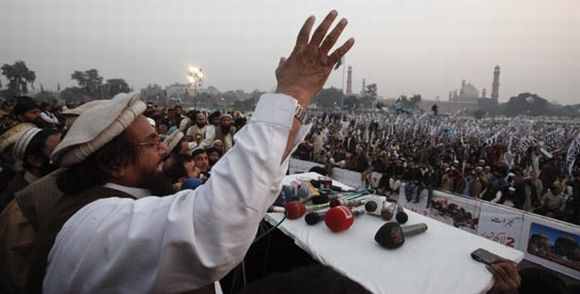 File photo of Hafiz Saeed