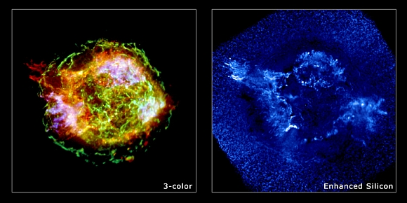 This spectacular image of the supernova remnant Cassiopeia A is the most detailed image ever made of the remains of an exploded star