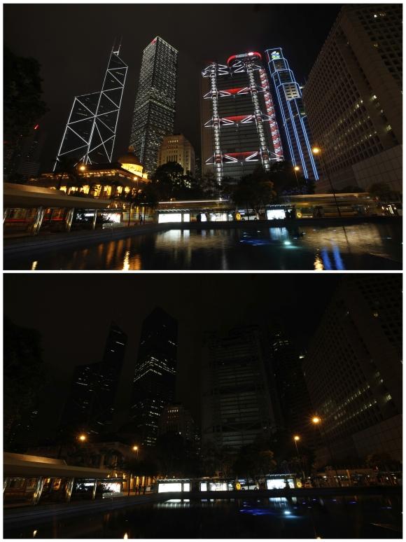 For Earth Hour, major cities go DARK