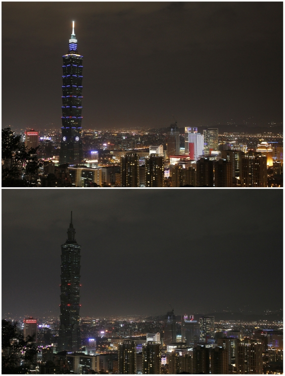 For Earth Hour, major cities go DARK