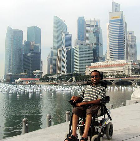 Srin in Singapore