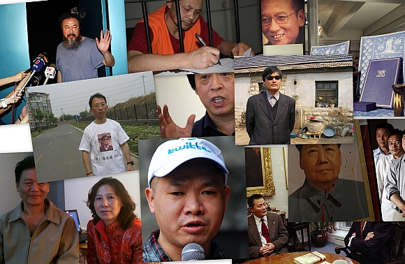 Diehard dissidents: People who took on China's iron fist