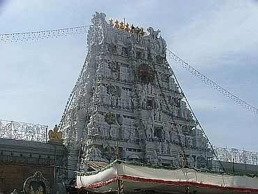 The Lord Tirupati Venkateswara temple
