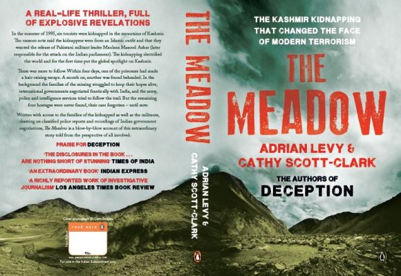 Cover of Adrian Levy's book The Meadow