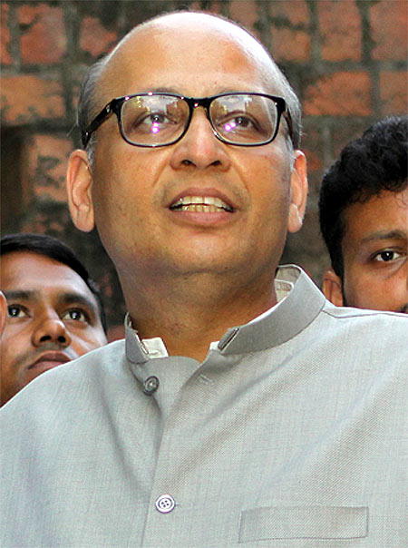 The beleaguered Abhishek Manu Singhvi