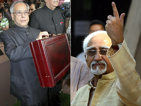 Pranab Mukherjee and Hamid Ansari   who will be India's next President?