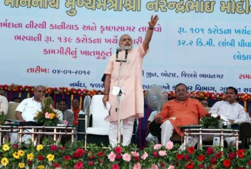 Gujarat didn't bow before Nehru, who is Sonia: Modi