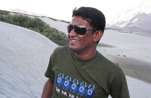 File picture of freed Collector Alex Paul Menon
