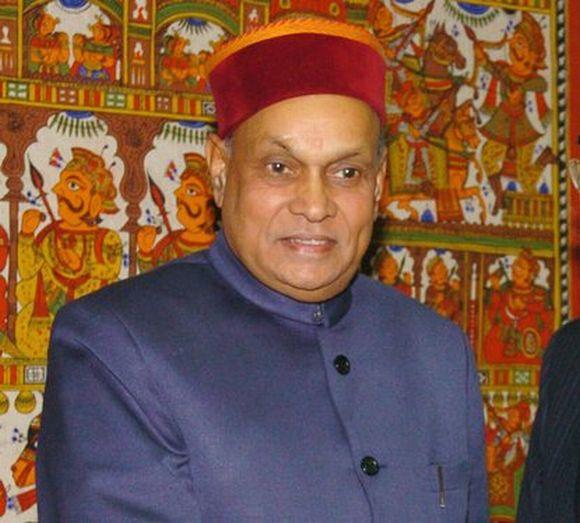 Himachal Pradesh CM Prem Kumar Dhumal