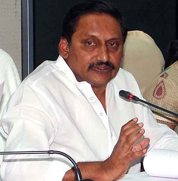 A file photograph of Andhra Pradesh Chief Minister Kiran Kumar Reddy
