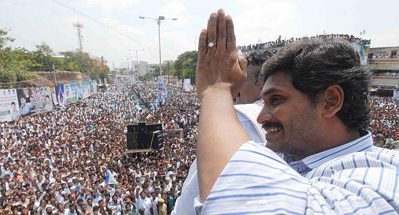 Jagan's road-show has led to a mass connect that most politicians can only dream of