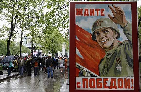 IN PICS: PROTESTS set tone for Putin's new term as Prez