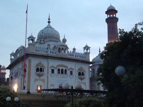 Maharaja Ranjit Singh's samadhi in Lahore