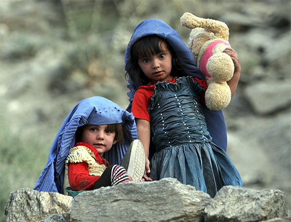 BEHIND THE VEIL: Afghan's new-age girls!