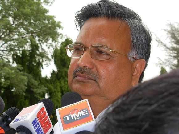 Chhattisgarh Chief Minister Raman Singh