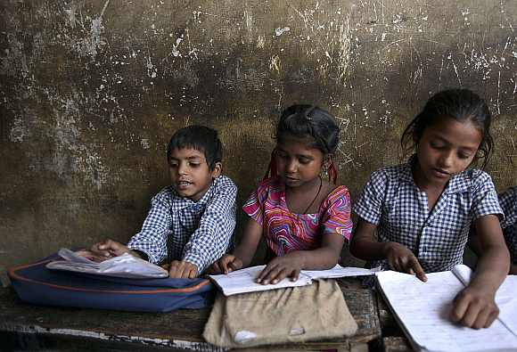 'Naxals are scared of education'