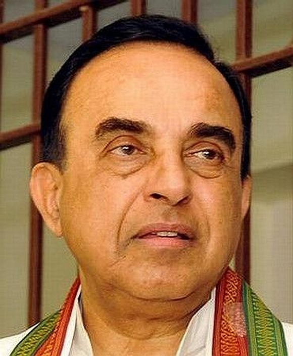 Janata Party leader Subramanian Swamy